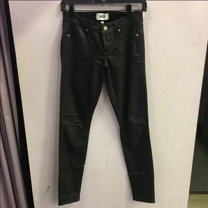 Paige Wax Coated Jeans